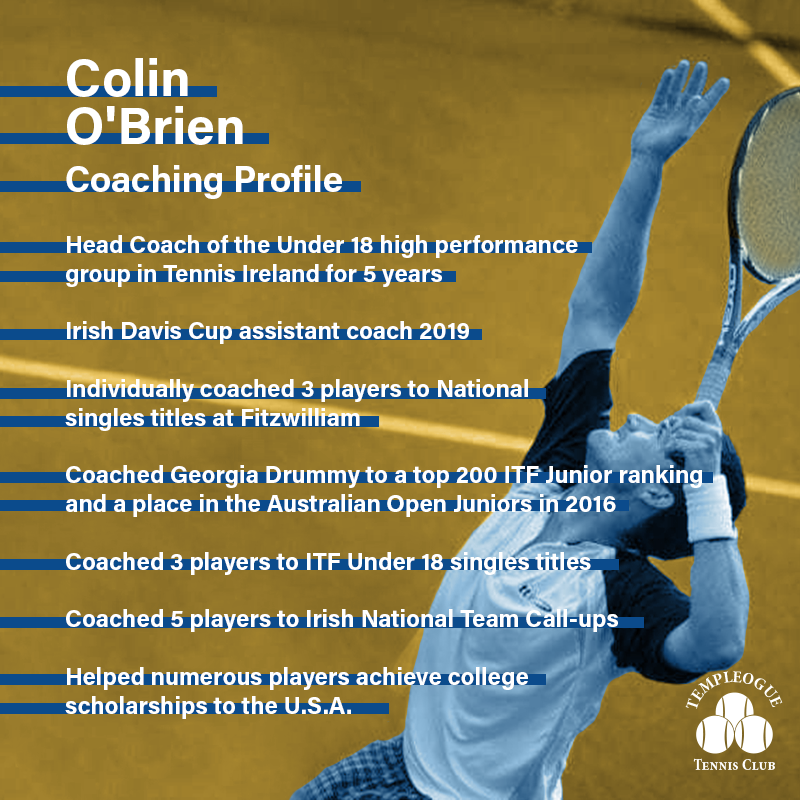 Colin Obrien Bio 01 Coaching Profile Yellow Blue