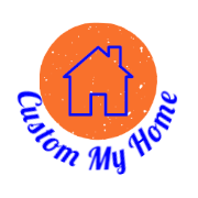 Custom My Home Round Logo