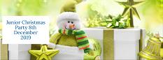 Junior Christmas Party Button