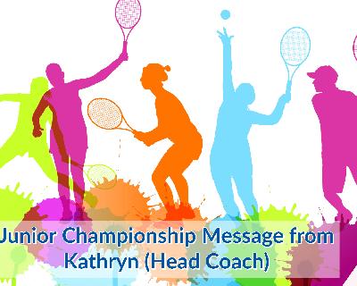 Message From Kathryn Leonard