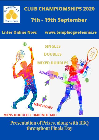 Senior Championship 2020 Poster