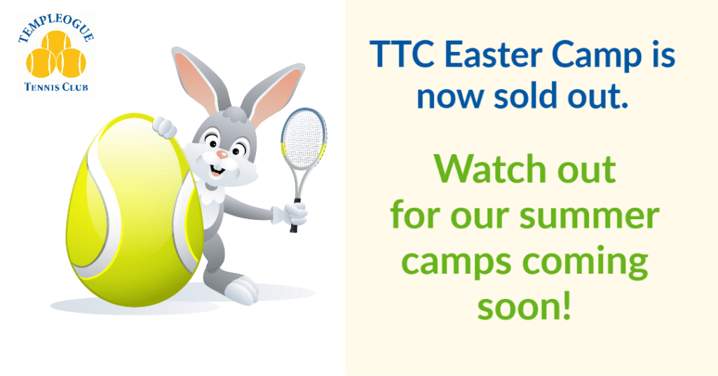 Ttc Easter Camp Sold Out